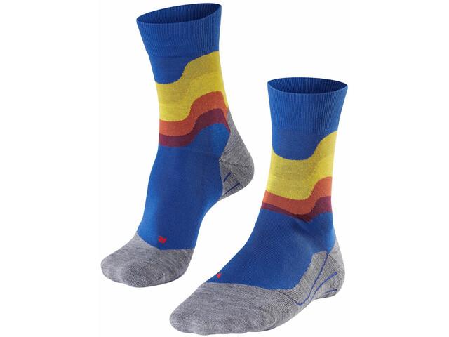 Falke RU4 Wave Running Socks Men, athletic blue